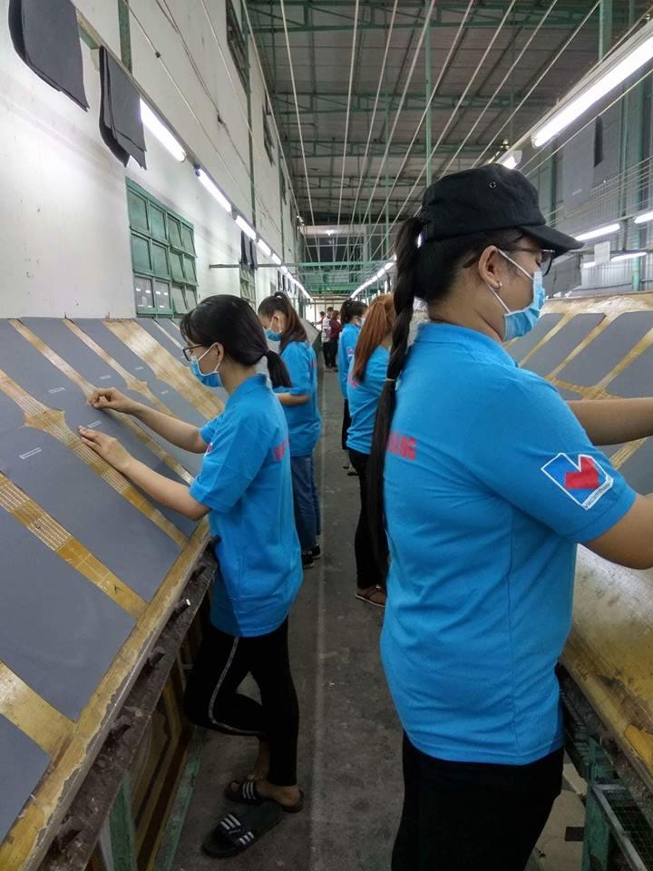 Đội ngũ lao đông thời vụ của Công ty Phan Đăng đang cần mẫn làm việc